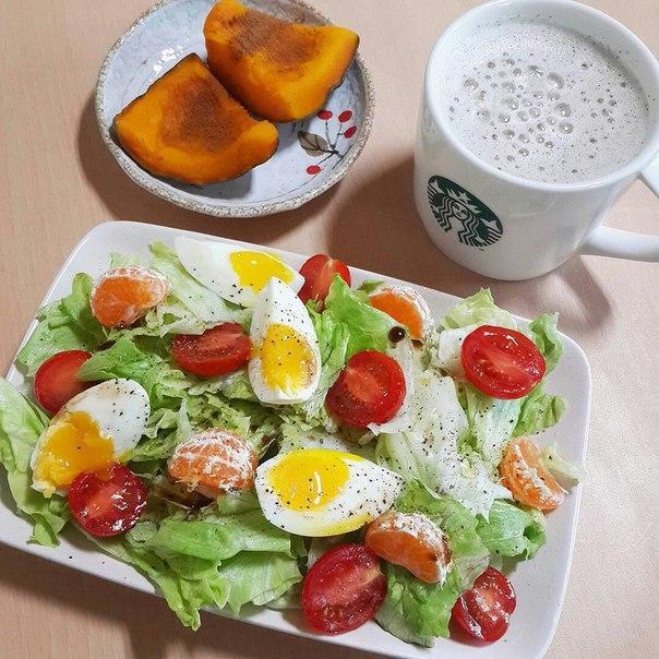 Правильное похудение завтрак