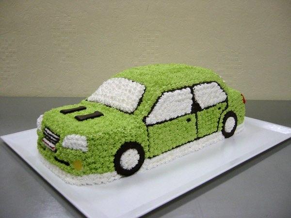 Открытки тортики с машинками