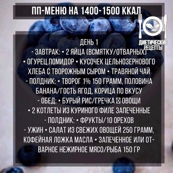 1500 dieta ipocalorica di fisterra